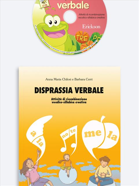 Disprassia verbale Kit (Libro + Cd-Rom) - Erickson Eshop