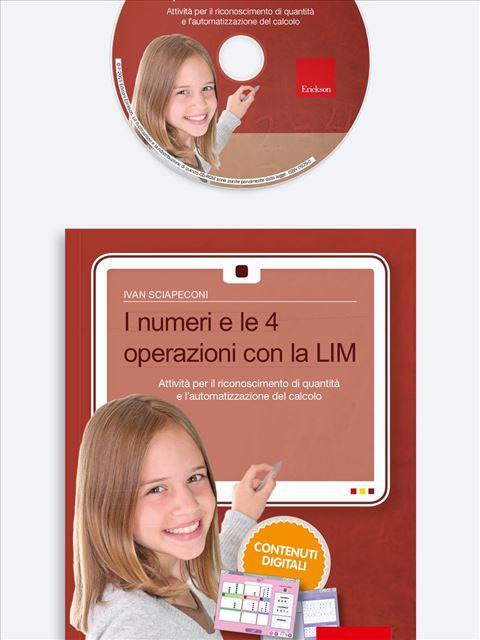 I numeri e le 4 operazioni con la LIM - App e software per Scuola, Autismo, Dislessia e DSA - Erickson