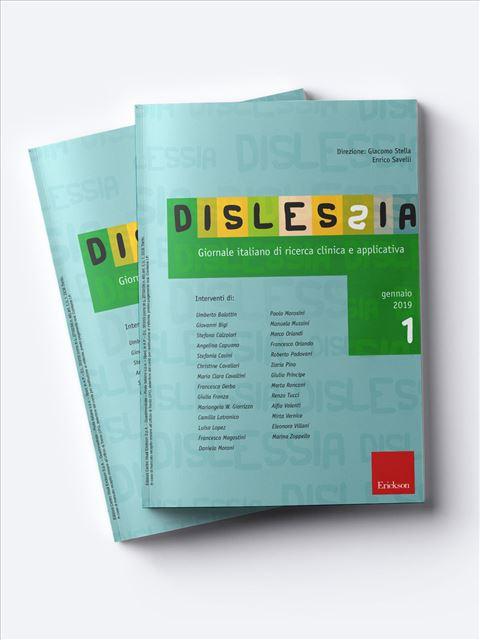 Dislessia - Riviste di didattica, logopedia, psicoterapia, anche digitali - Erickson