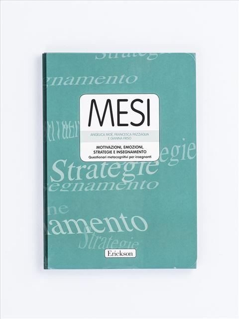 MESI - Motivazioni, Emozioni, Strategie e Insegnamento - Test diagnosi autismo, asperger, dislessia e altri DSA - Erickson