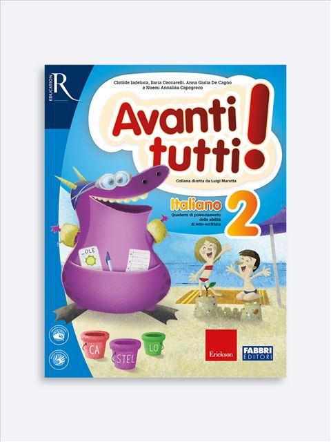 Avanti tutti! Italiano 2 - Libri di didattica, psicologia, temi sociali e narrativa - Erickson