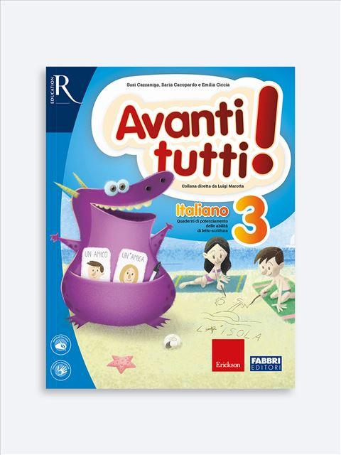 Avanti tutti! Italiano 3 - Libri di didattica, psicologia, temi sociali e narrativa - Erickson