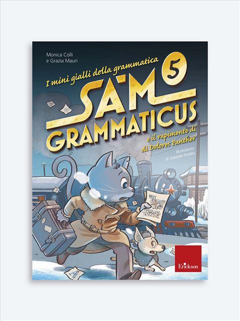 I mini gialli della grammatica 5 - Libri per i compiti delle vacanze |  Classe quinta elementare