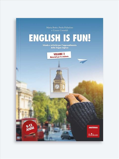 English is fun! Volume 2 - Didattica: libri, guide e materiale per la scuola - Erickson