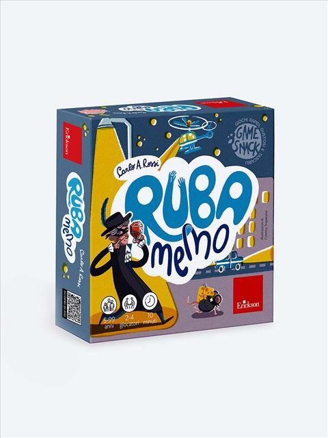 Ruba memo - Trova le coppie e rubale agli avversari - Giochi Educativi, istruttivi e divertenti per bambini - Erickson