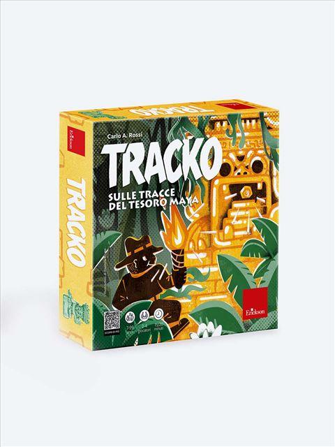 TRACKO - Sulle tracce del tesoro maya - Giochi Educativi, istruttivi e divertenti per bambini - Erickson