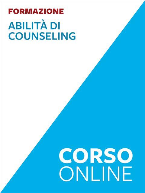 Abilità di counseling - formazione - Pedagogista - Erickson