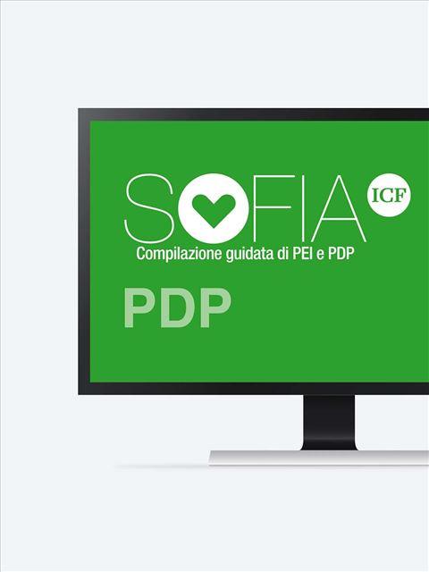 SOFIA ICF -  compilazione PDP Accesso piattaforma - 1 PDP - Erickson Eshop