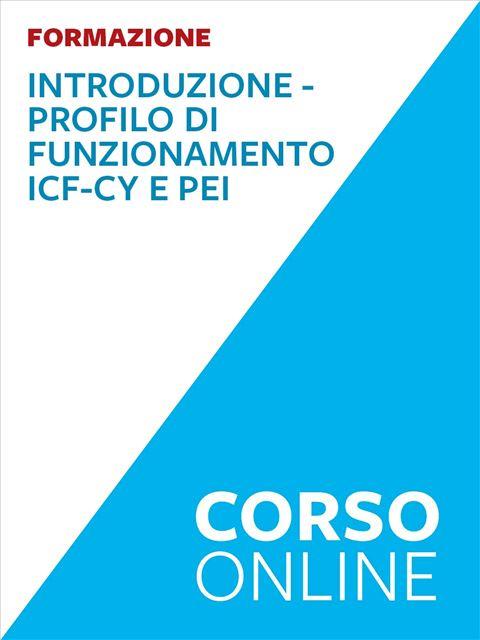 Profilo di funzionamento ICF-CY e PEI per competen Iscrizione Corso online - Erickson Eshop
