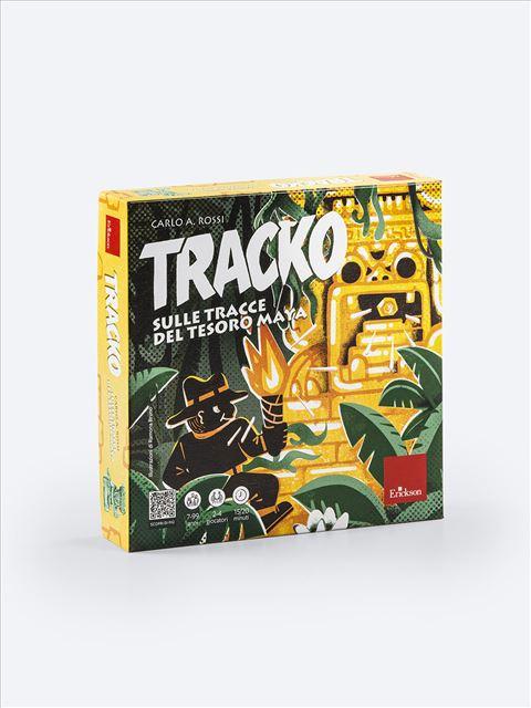 TRACKO - Sulle tracce del tesoro maya - Imparo giocando - Erickson