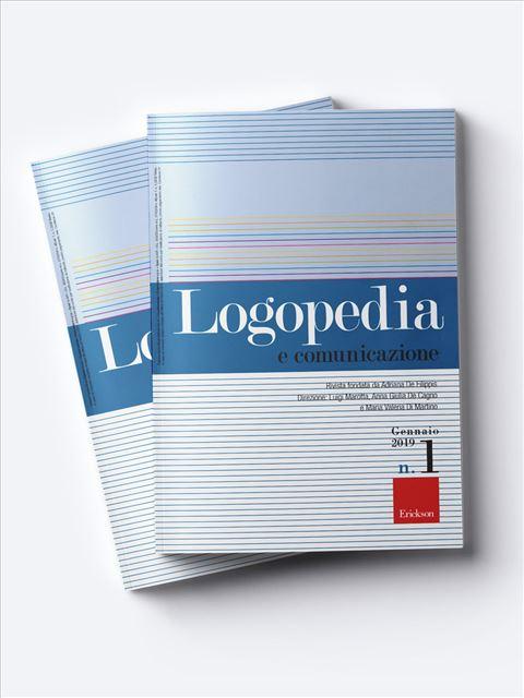 Logopedia e comunicazione Abbonamento versione cartacea + digitale - Erickson Eshop