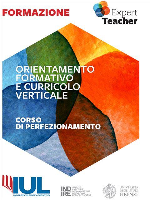 Orientamento Formativo e Curricolo Verticale - Formazione per docenti, educatori, assistenti sociali, psicologi - Erickson
