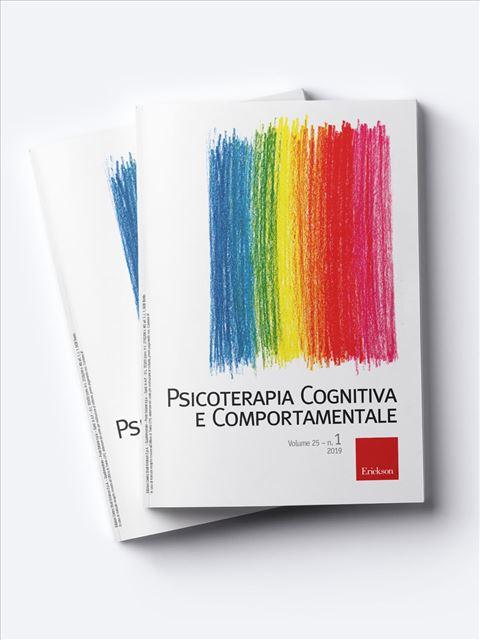 Psicoterapia Cognitiva e Comportamentale - Studente - Erickson