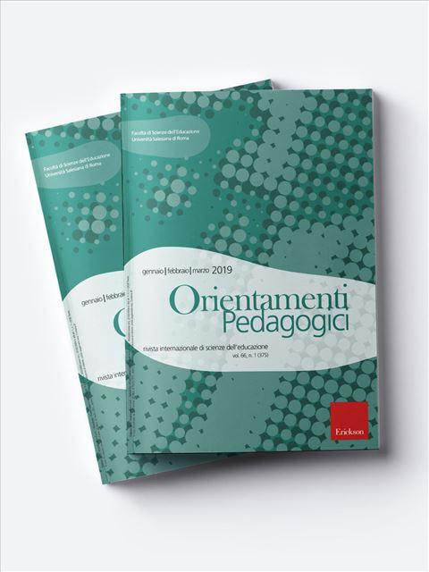 Orientamenti Pedagogici - Riviste di didattica, logopedia, psicoterapia, anche digitali - Erickson