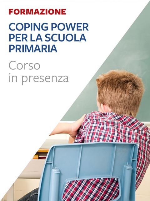 Coping Power per la scuola primaria - Corsi in presenza - Erickson