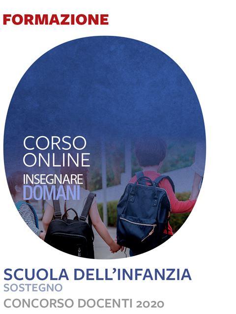 Insegnare domani - Scuola dell'infanzia sostegno - Iscrizione Corso online - Erickson Eshop