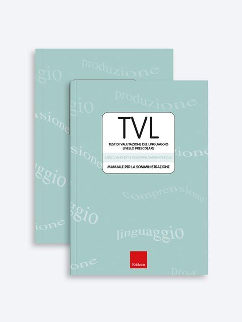 Test TVL - Valutazione del linguaggio - Test di valutazione linguaggio e competenze fonologiche-lessicali