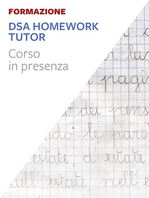 DSA Homework Tutor®  - Trento - Pedagogista - Erickson