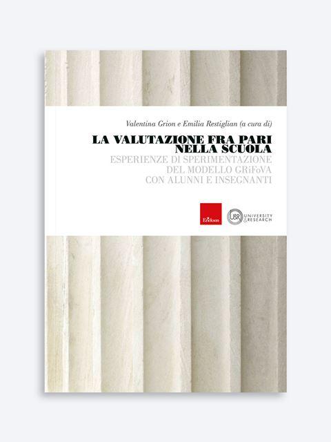 La valutazione fra pari nella scuola - Didattica: libri, guide e materiale per la scuola - Erickson