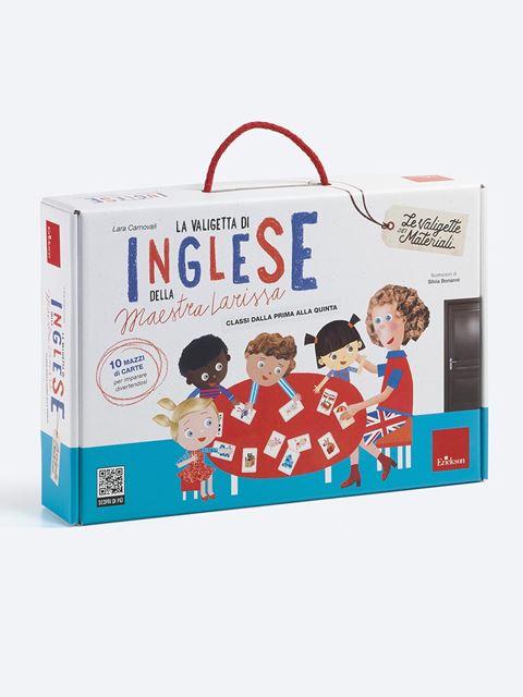 La valigetta di inglese della Maestra Larissa - Le valigette dei materiali - Erickson