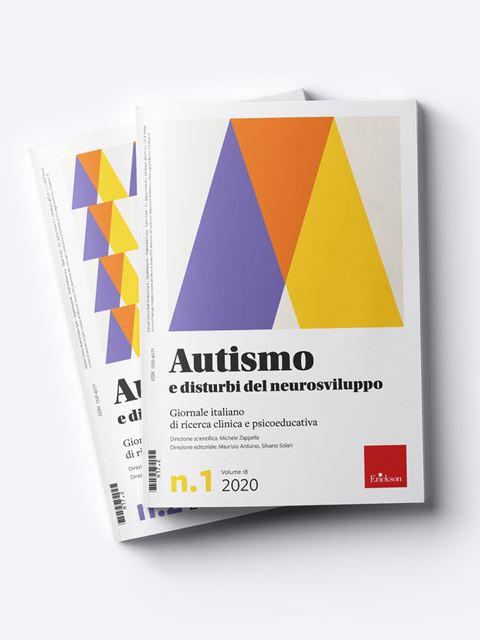 Autismo e disturbi del neurosviluppo - Riviste di didattica, logopedia, psicoterapia, anche digitali - Erickson
