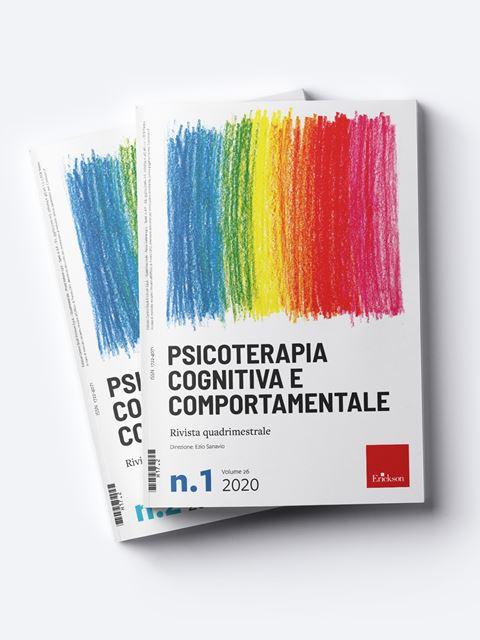Psicoterapia Cognitiva e Comportamentale - Psicoterapia età adulta - Erickson