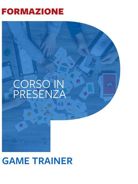 Game Trainer®  - Trento - Formazione per docenti, educatori, assistenti sociali, psicologi - Erickson