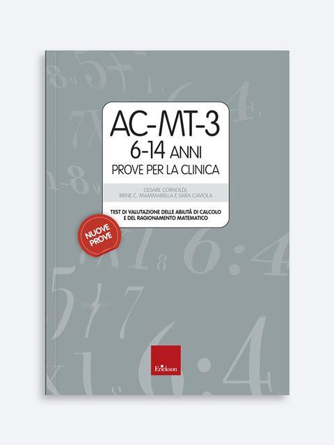 AC-MT-3 6-14 anni Prove per la clinica - Test diagnosi autismo, asperger, dislessia e altri DSA - Erickson