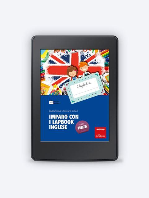 Imparo con i lapbook - Inglese - Classe terza - Lingue straniere - Erickson