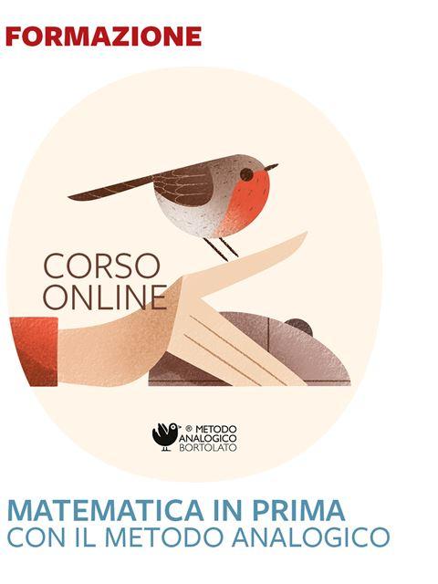 Matematica in classe prima con il Metodo Analogico Iscrizione Corso online - Erickson Eshop