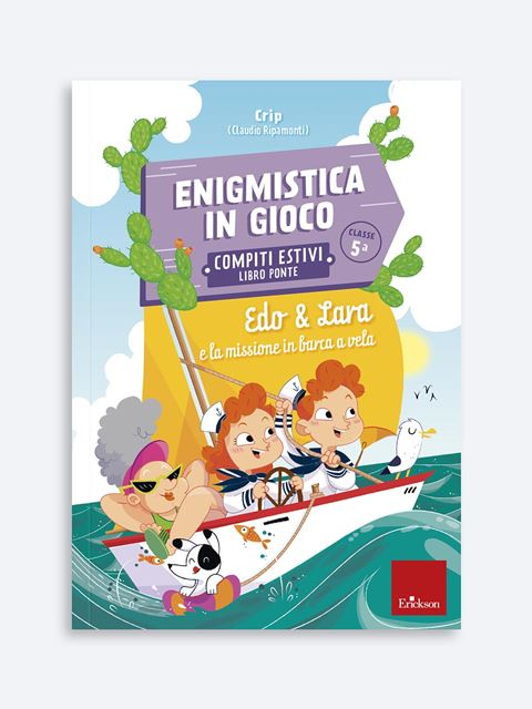 Enigmistica in gioco -  Compiti estivi - Classe quinta - Didattica: libri, guide e materiale per la scuola - Erickson