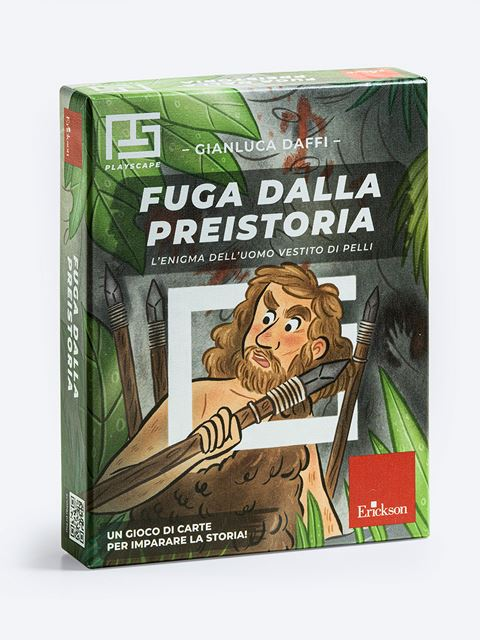 Fuga dalla preistoria - Playscape - Erickson