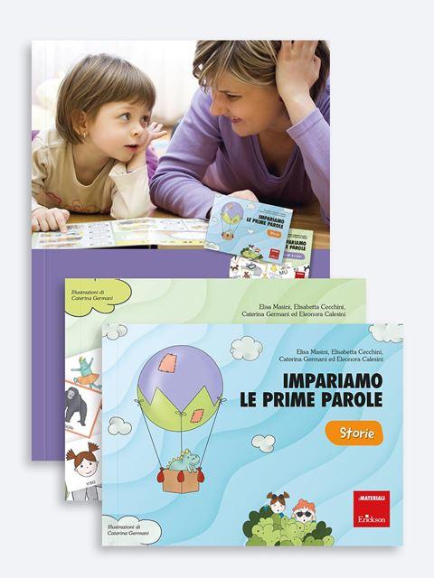 Impariamo le prime parole - Libri sulla Difficoltà di Linguaggio – Erickson