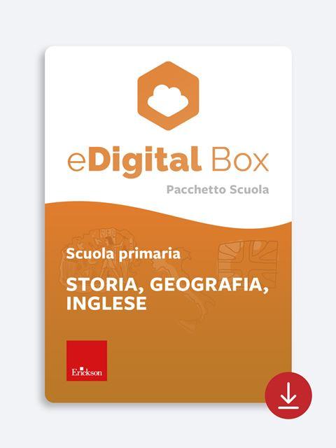 eDigital Box - Storia, geografia, inglese - primaria - Didattica: libri, guide e materiale per la scuola - Erickson 2