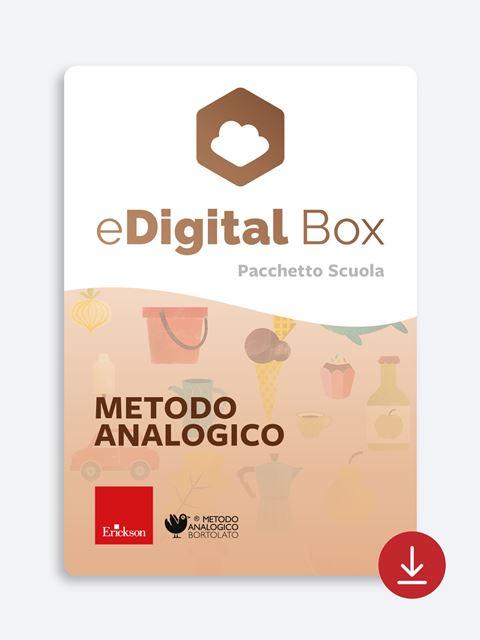 eDigital Box  - Metodo Analogico di Bortolato - Didattica: libri, guide e materiale per la scuola - Erickson 2