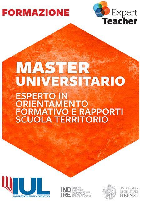 Esperto in Orientamento Formativo e Rapporti Scuola Territorio - Master - Erickson