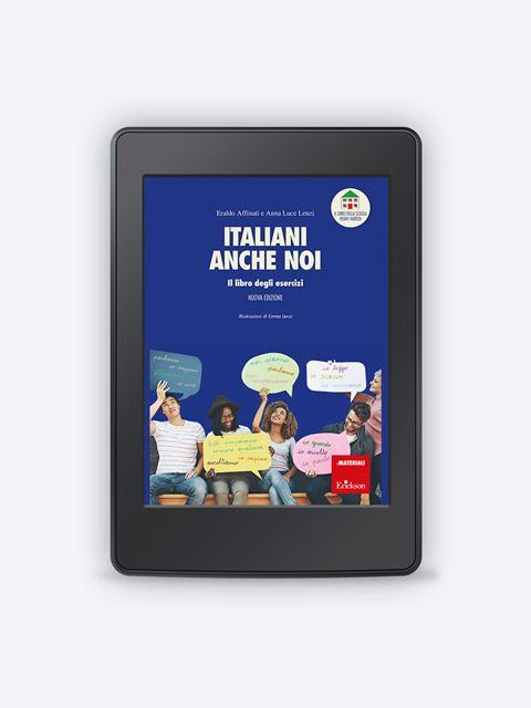 Italiani anche noi - Il libro degli esercizi - Lingue straniere - Erickson