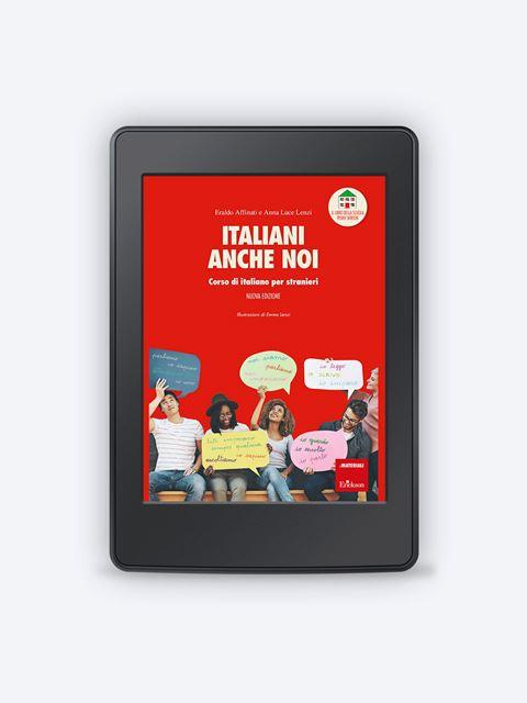 Italiani anche noi - Corso di italiano per stranieri - Lingue straniere - Erickson