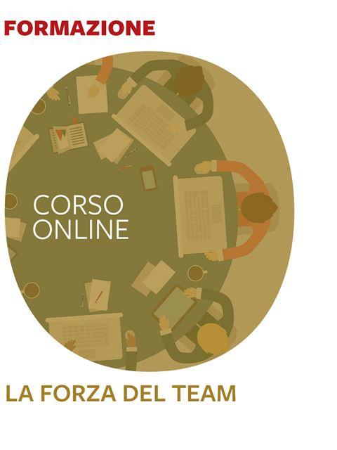 La forza del Team - Corsi online - Erickson