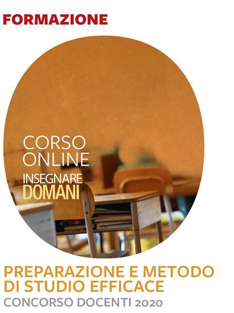 Concorso docenti 2020 – Preparazione e metodo di s Iscrizione Corso online - Erickson Eshop