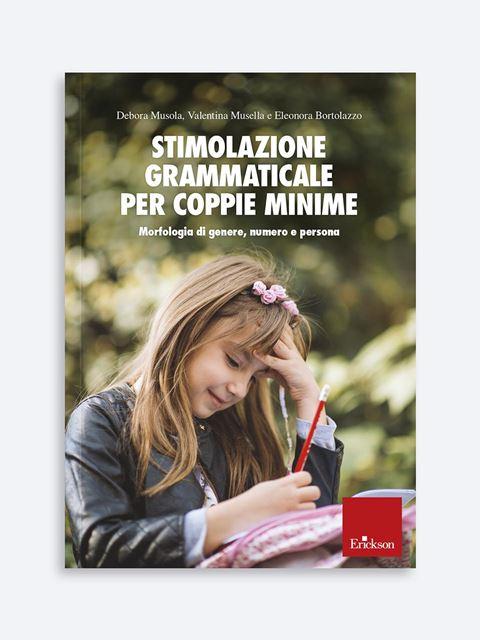 Stimolazione grammaticale per coppie minime - Disabilità sensoriale - Erickson