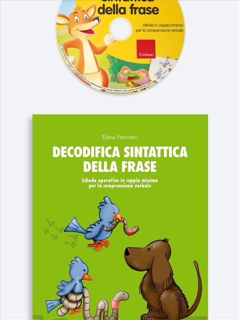 Decodifica sintattica della frase - App e software per Scuola, Autismo, Dislessia e DSA - Erickson 3
