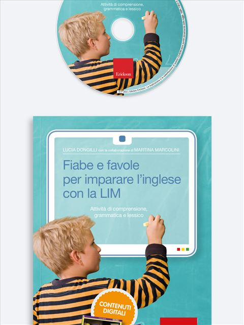 Fiabe e favole per imparare l'inglese con la LIM - App e software per Scuola, Autismo, Dislessia e DSA - Erickson