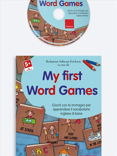 My First Word Games - App e software per Scuola, Autismo, Dislessia e DSA - Erickson