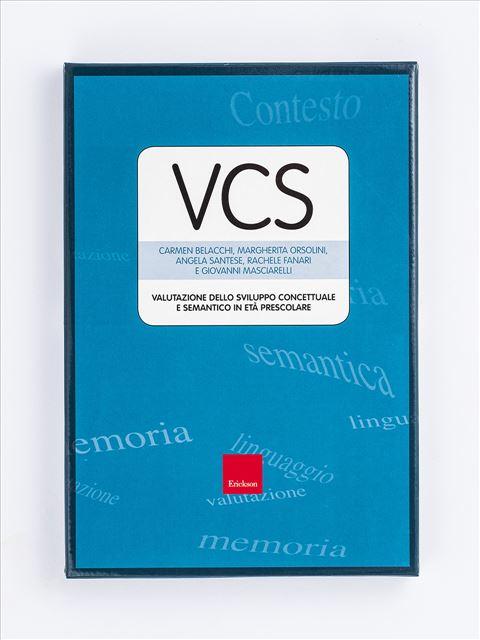 Test VCS - Valutazione dello sviluppo Concettuale e Semantico in età prescolare - Test diagnosi autismo, asperger, dislessia e altri DSA - Erickson