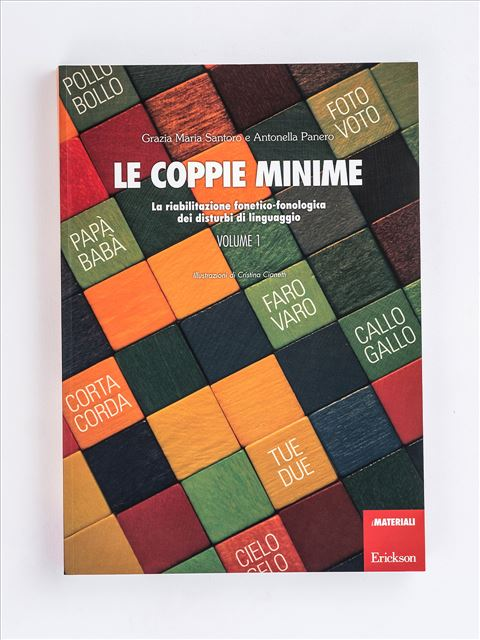 Le coppie minime - Volume 1 - Disortografia - Erickson