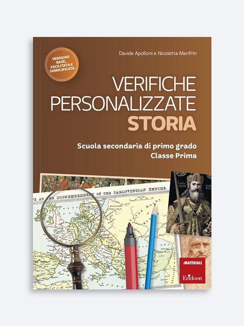 Verifiche personalizzate - STORIA - BES (Bisogni Educativi Speciali): libri, corsi e guide - Erickson