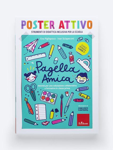 POSTER ATTIVO - Pagella amica - Genitorialità: libri sul rapporto genitori e figli - Erickson