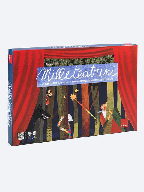 Mille teatrini - Giochi Educativi, istruttivi e divertenti per bambini - Erickson