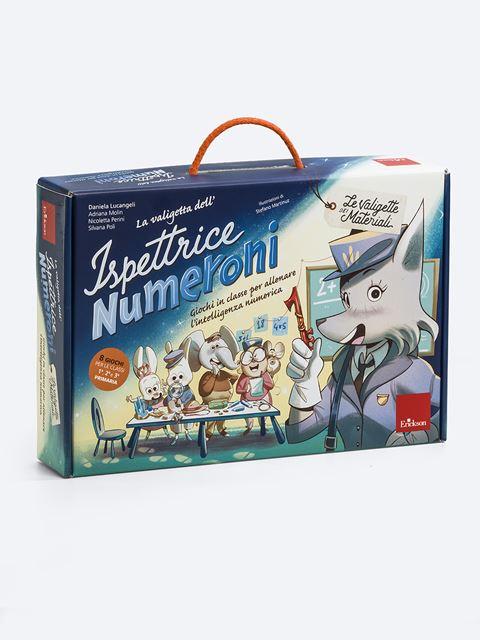 La valigetta dell'Ispettrice Numeroni - Giochi educativi e didattici da fare in classe - Erickson